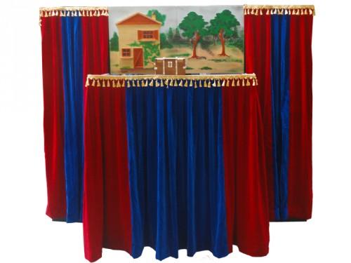 Poppentheater - de kleine poppenkast