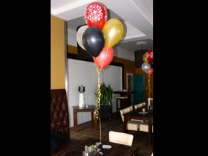 Ballondecoratie, ballondeco, ballonen, ballontafelstuk