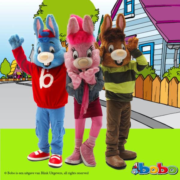 Meet en greet, Meet & Greet, kinderentertainment, tv karakter inhuren, winkelcentrumpromotie, looppop inhuren, bekende kinderfiguren inhuren, boeken kinderentertainment, Bobo