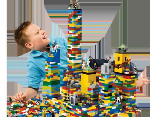 LEGO® bouwwedstrijd, kinderentertainment, winkelcentrumpromotie