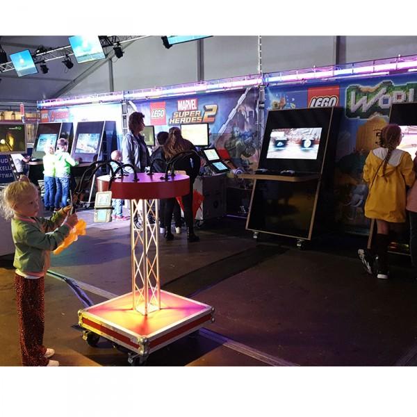 Kinderentertainment inhuren, winkelcentrum promotie, boekingskantoor, mobiele kids acts, entertainmentbureau, workshops voor kinderen, fun game event