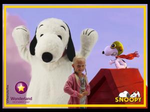 Foto actie, op de foto met Snoopy, op de foto met Sesamstraat, winkelcentrumpromotie, fotoacties, winkelcentrum promotie, op de foto met