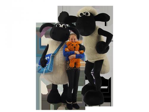 Shaun en timmy, ontmoet shaun het schaap, winkelcentrumpromotie