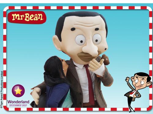 winkelcentrumpromotie, kinderentertainment, Mr Bean