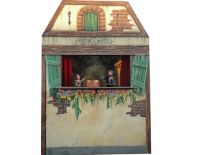 Poppenkasttheater op locatie