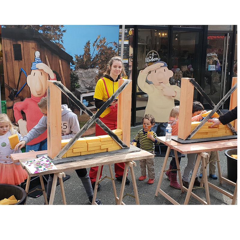 Kinderentertainment inhuren, winkelcentrum promotie, boekingskantoor, mobiele kids acts, entertainmentbureau, workshops voor kinderen, Buurman en Buurman, events met Buurman & Buurman, activiteiten met Buurman en Buurman