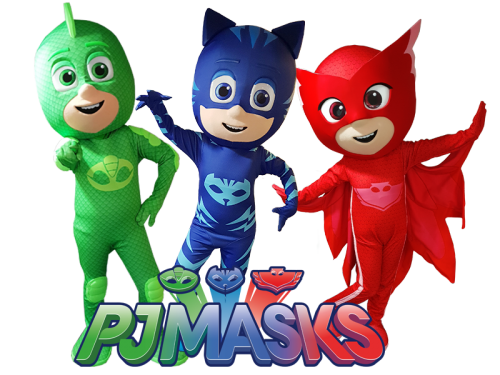 Meet & Greet, PJ Masks, winkelcentrum promotie, kinderentertainment