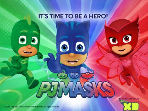 PJ Masks, kinderhelden, kidshelden.nl, looppop boeken, characters tv