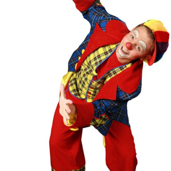 Kindershow, kindershow huren, kindershow inhuren, winkelcentrumpromotie, entertainment voor kinderen, bedrijfsfeest, open dag, festival, Clown Noni