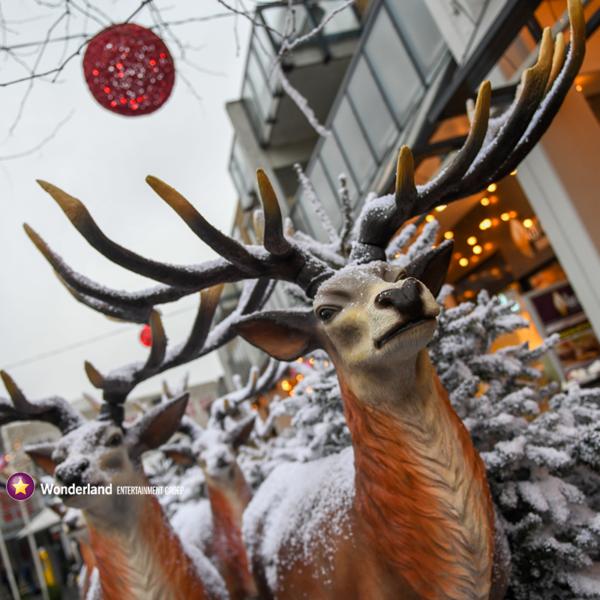 Winkelcentrum decoraties, winkelcentrumdecoratie, seizoensdecoratie, kerstdecoraties, winkelcentrumpromotie