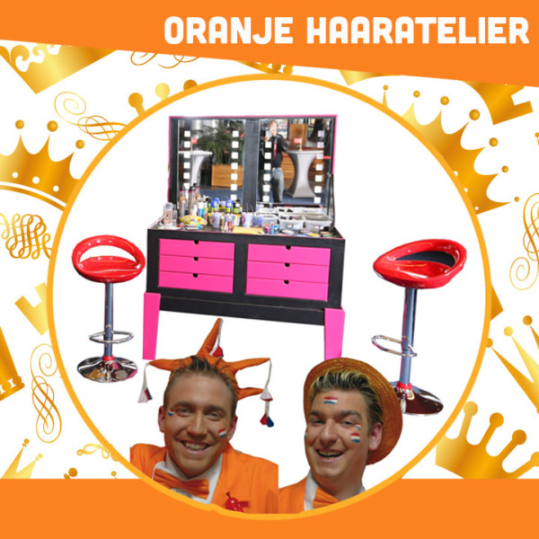 oranje entertainment, koningsdag entertainment, entertainment voor koningsdag, winkelcentrumpromotie