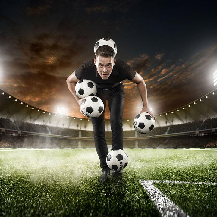 EK entertainment, voetbalentertainment, winkelcentrumpromotie, entertainment tijdens ek of wk voetbal