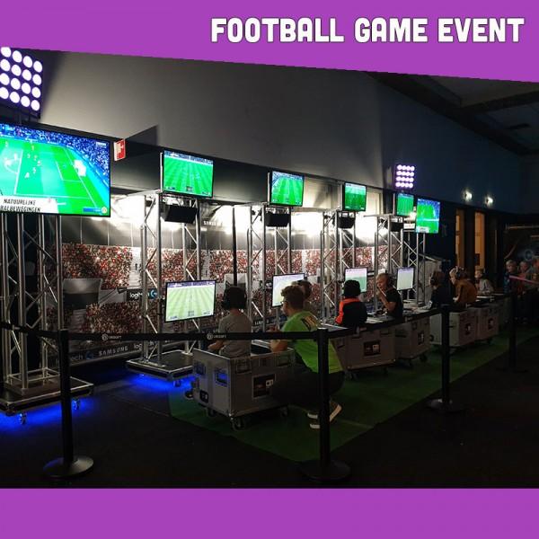 Kinderentertainment inhuren, winkelcentrum promotie, boekingskantoor, mobiele kids acts, entertainmentbureau, workshops voor kinderen, Football Game Event
