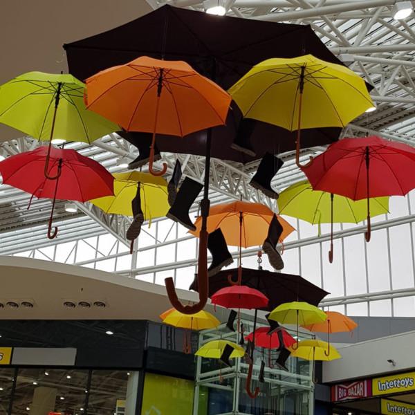 Winkelcentrum decoraties, winkelcentrumdecoratie, seizoensdecoratie, kerstdecoraties, winkelcentrumpromotie, Herfst decoratie